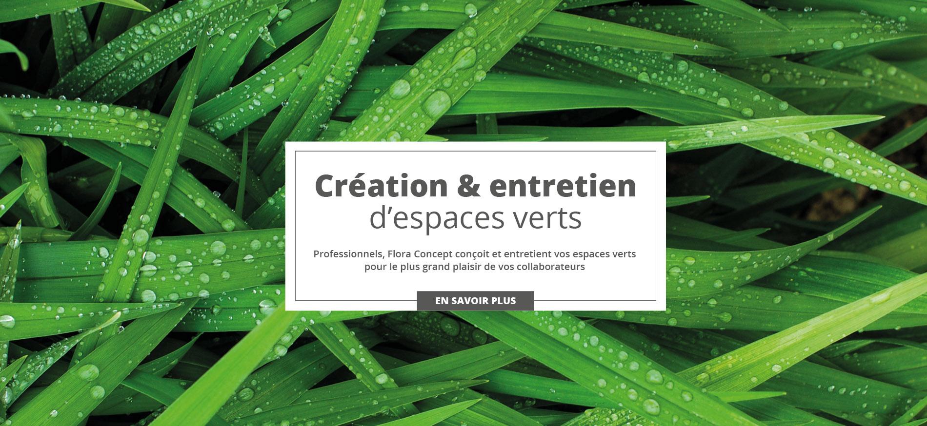 Création & entretien d'espaces verts